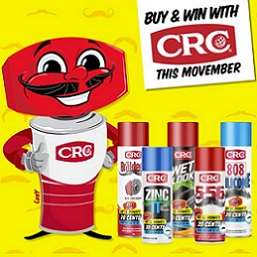 Buy & win with CRC this Movember!