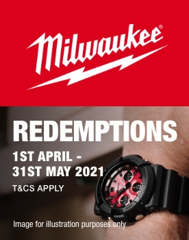 Milwaukee G-Shock Redemption Promo