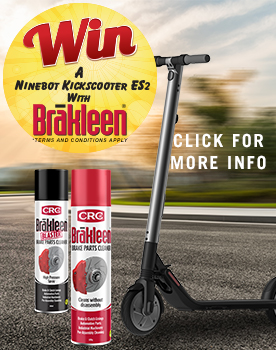 CRC Brakleen E-Scooter Promotional Giveaway