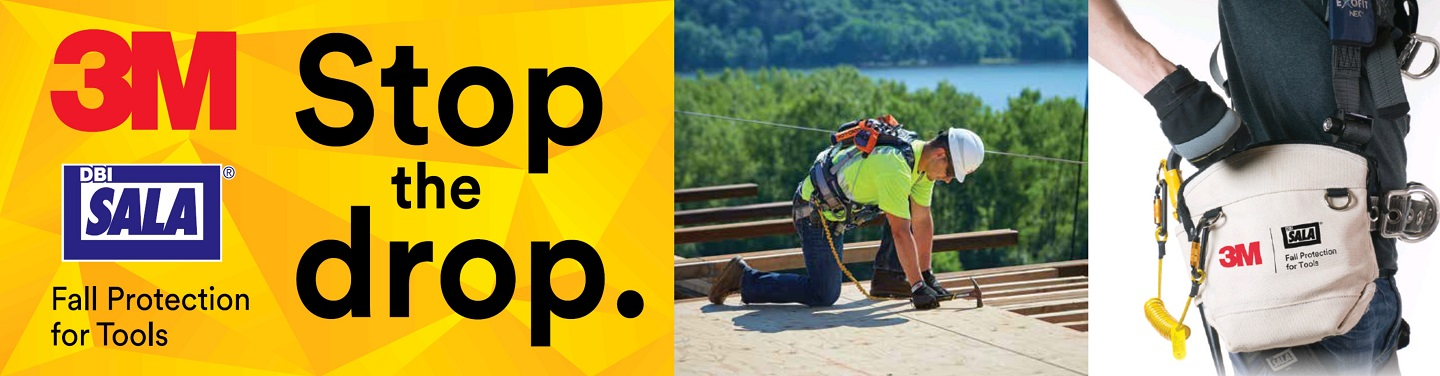 3M Stop the Drop: Fall Protection for Tools