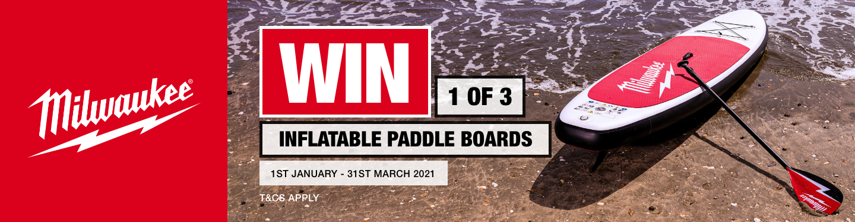 Milwaukee Paddle Board Promo
