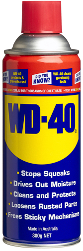 WD-40 300gm aerosol can