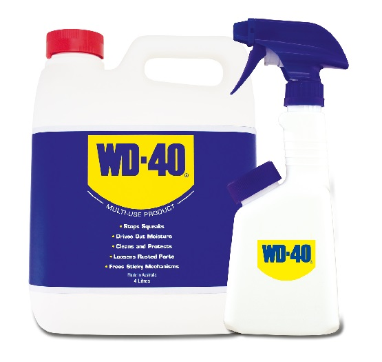 WD 40 4 litre with Applicator Nozzle