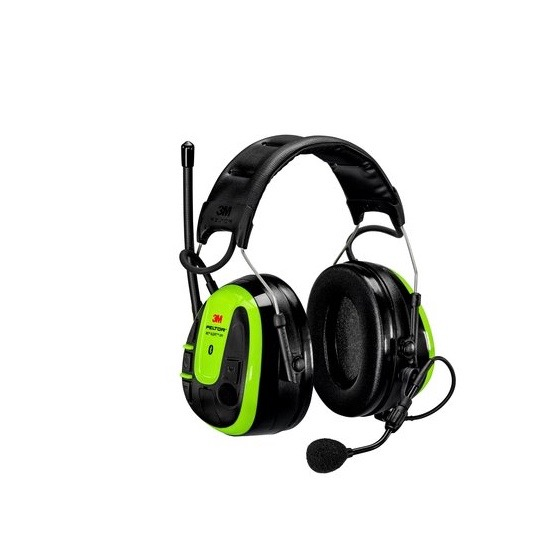 3M Peltor WS6 Alert XPI Headset, FM & Bluetooth